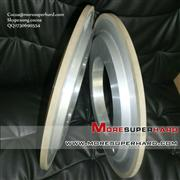 14A1 resin bond diamond bruting wheel for machining PCD&PCBN material Cocoa@moresuperhard.com