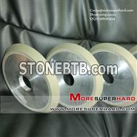 1V1 resin bond diamond grinding wheel for crystal