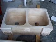 Sandstone Double Wash Sink
