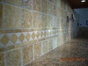 4 inch Travertine run straight W- liner