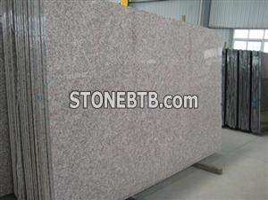 G687 Red Granite, Peach Red Granite