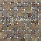 Golden Chinese Slate Mosaic