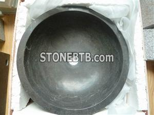 Nature Blue limestone Washing basin