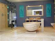 Travertine Bath Tub
