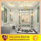 Volakas white marble flooring tiles price for bathroom floor tiles