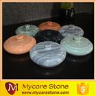 Newly Design small Stone Art tub for washing hand, polished marble stone hand wash basin