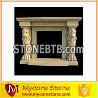 Hot sale fireplace marble status