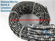 Marble quarry spring diamond wire saw