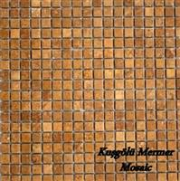 Gold Travertine Mosaic K14