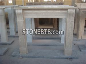 Freestanding Fireplace Mantel