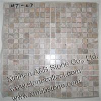 China Emperador Brown mosaic MT-27