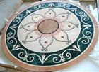 Flooring Stone Medallion, Waterjet Pattern