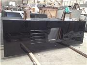 Absolute Black Granite Customize Kitchen Countertops with Sink Cut Out