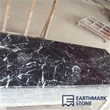 Nero Marquina Black Kitchen Countertops