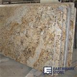 Crystal Yellow Granite Countertop