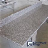 G664 Bainbrook Brown Granite Countertops with Splash