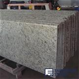 Giallo Ornamental Prefab Granite Kitchen Countertop