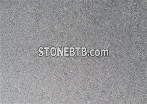 Black/grey granite tiles and kerbs stone for the building projects