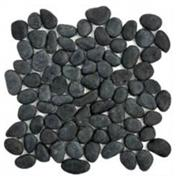 Black river stone tile