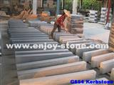Grey Granite Flamed Kerbstone G654