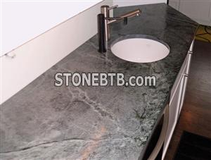 Green Julia Soapstone Countertop