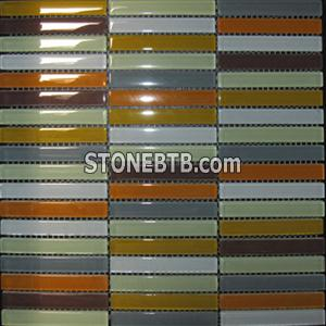 Glass mosaic, mosaic tile