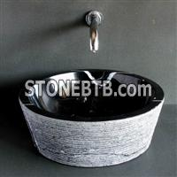 China Marquina Marble Sink