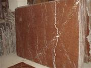 Coral Red Marble Slab