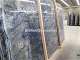 Brazil Azul Bahia Granite Slab, Luxury Granite Slab, Rare Granite Slab