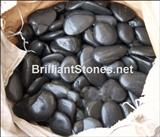 Natural Black Pebble Stone