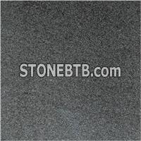 Black Basalt G684 Sandblasted Tile