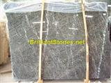 White Veins Hang Grey Marble Slabs