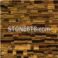 Yellow Tiger Eyes Semiprecious Stone