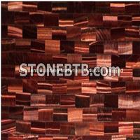 Red Tiger Eyes Semiprecious Stone