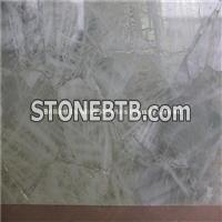 White Rock Crystal Semiprecious Stone Tiles