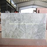 White Rock Crystal Semiprecious Stone Slab