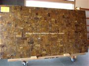 Brown Iron Tiger Eyes Slab Panel