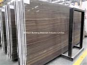 Brown Wooden Veins Marble Slab(Veins Cut)