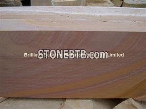 Rainbow Sandstone Blocks,Multicolor Sandstone blocks