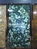 Backlit Semiprecious Stone Lotus Green Slab Panel