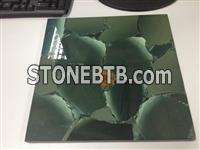 Lotus Green Jasper Semiprecious Stone Tiles