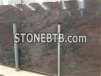 Luxury Elegant Brown Granite Slab