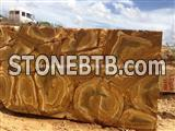 Luxury Palomino Quartzite Block, Brazil Yellow Quartzite Block