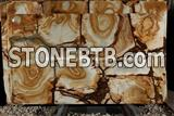 Luxury Gold Palomino Marble Slab, Yellow Palomino Marble Slab