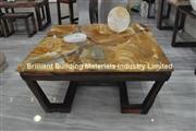 Luxury Palomino Quartzite Tea Table Top;