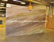 Luxury Aquarela Quartzite Slab, Brazil Brown Quartzite Slab