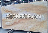Luxury Giallo Macaubas Quartzite Slabs, Brazil Giallo Quartzite Slabs