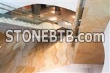 Luxury Giallo Macaubas Quartzite Floor Tiles,Brazil Yellow Quartzite Tiles