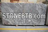 Fior Di Pesco Marble Slabs, Italy Grey Marble Slabs