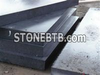 Hunan Ink Black Marble Thick Tiles, Pure Black Marble Thick Tiles